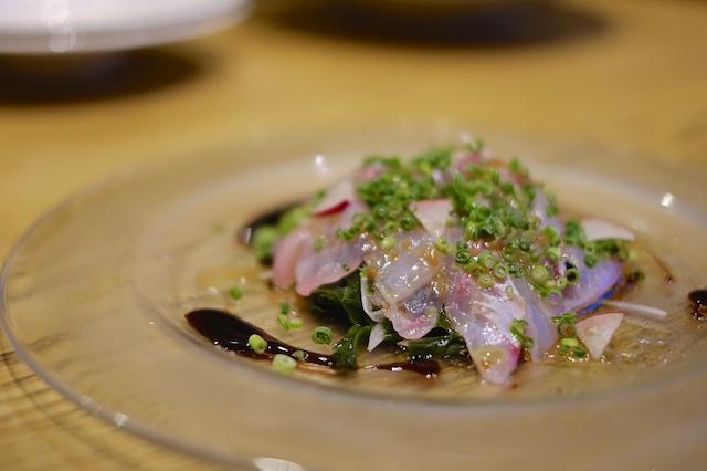 カルパッチョは魚の仕入れ状況によって変わります