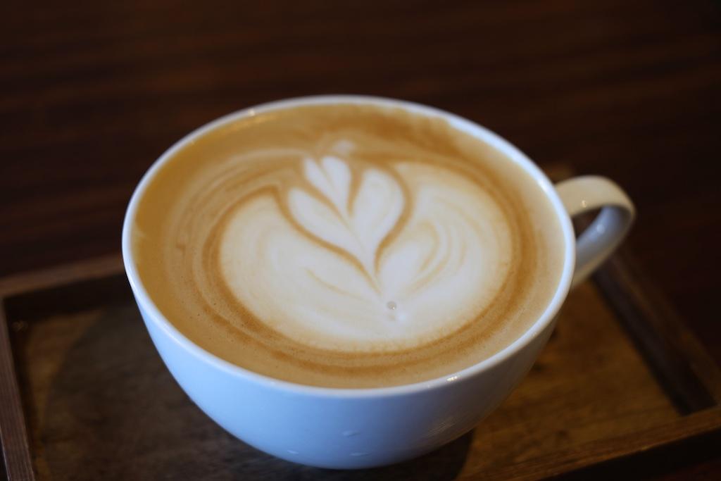 ある日のカフェラテ