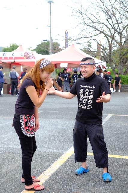昨年は一力寿司さんと談笑する姿も見れました