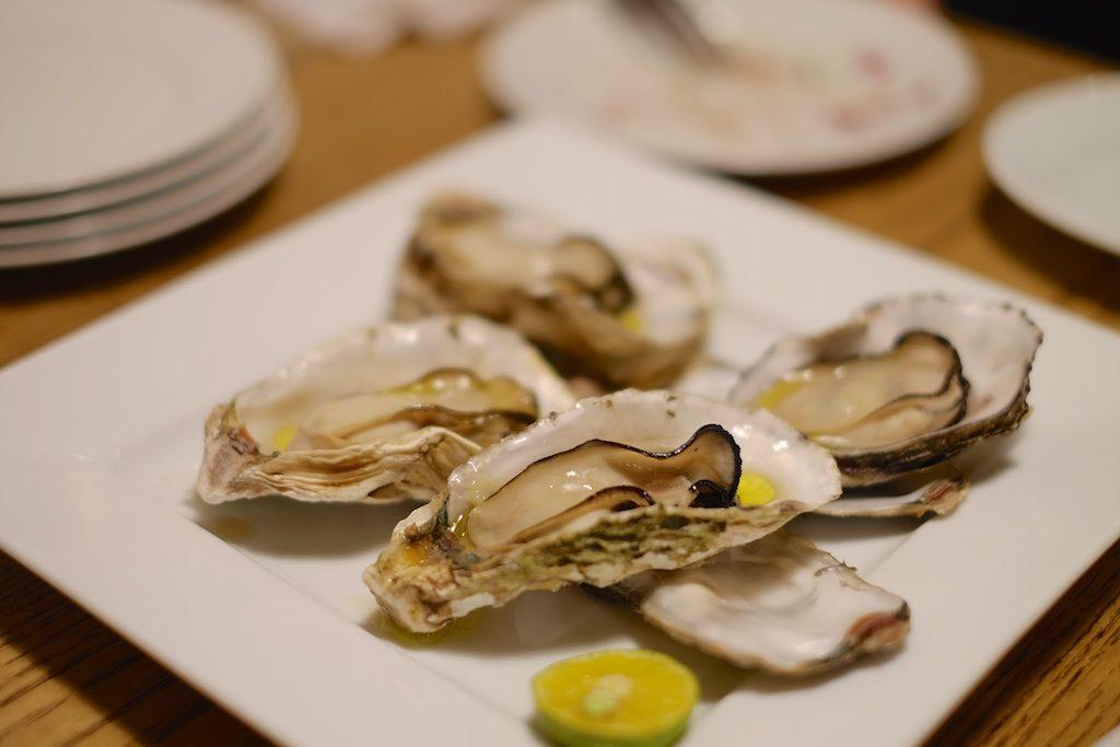 牡蠣だ〜!