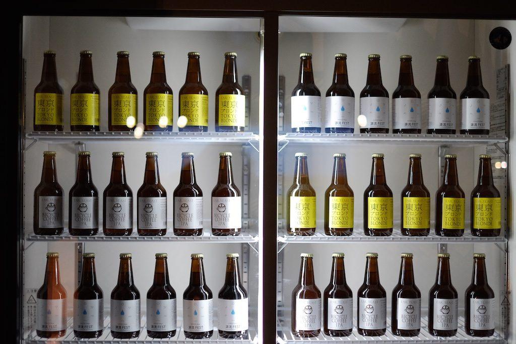 ビールもたくさん並んでます!