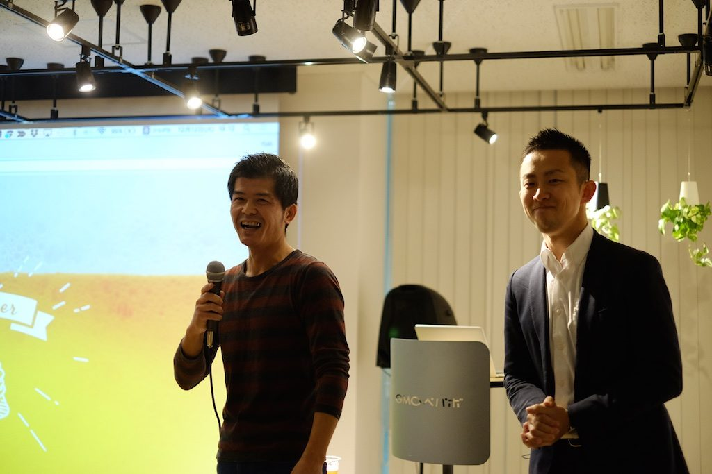 川添さんと弟子