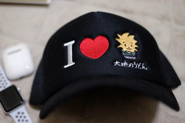 この帽子です