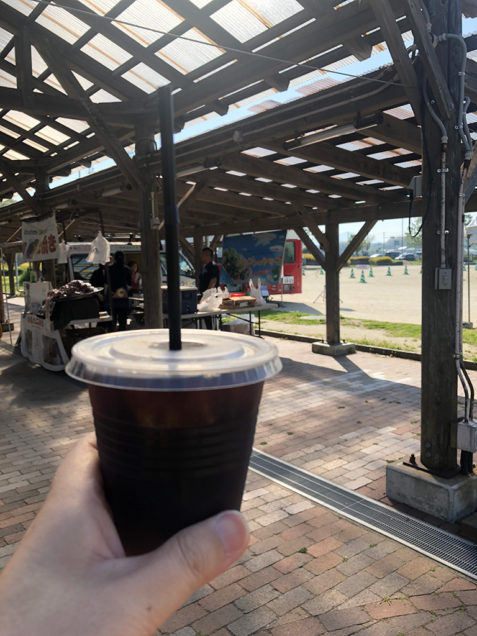 エクリュさんのアイスコーヒー!ありがとうございました!