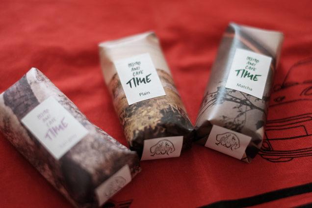 プレーン、アールグレイ、抹茶の3種類をゲット!